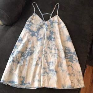 LF rumor boutique tie dye dress medium